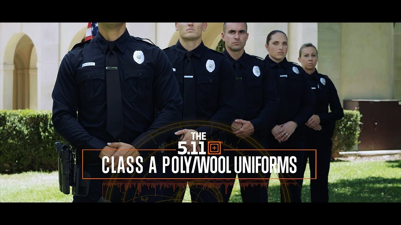 Introducing the 5.11 Tactical® Class A Poly/Wool Uniform Collection