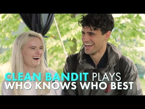 Clean Bandit Talk Grace's Ideal Man & Neil Gushes Over His B