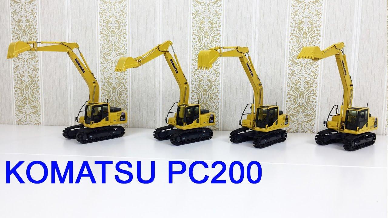 Гусеничные экскаваторы Komatsu PC200
