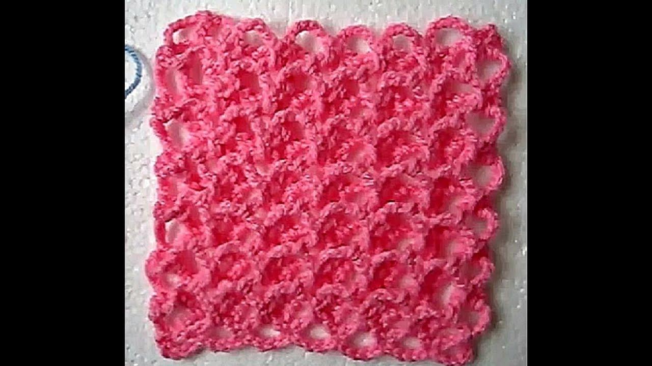 Easy Crochet 3d Baby Blanket All Sizes Tutorial Youtube