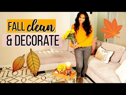 FALL CLEAN AND DECORATE WITH ME 2019 | LoveLexyNicole