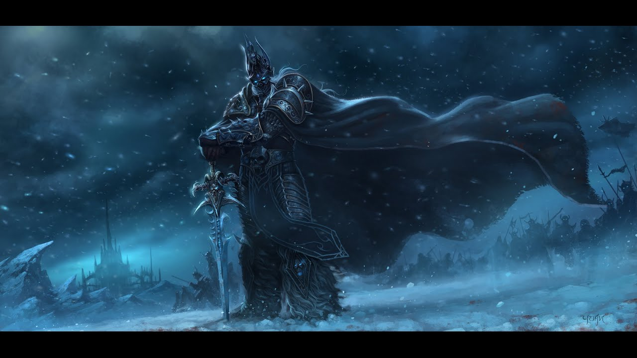 UFFICIALE IN RESINA MODELLO WOW Warcraft Arthas menethil Statua Lich King LIMITED VER