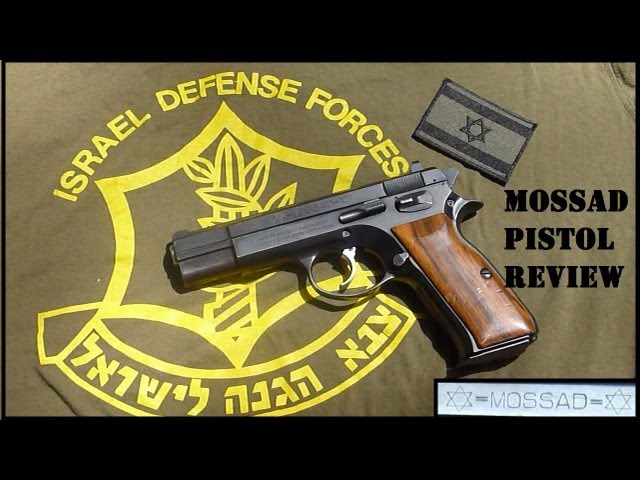 Tanfoglio MOSSAD Pistol: Shooting Review & Some Shaky History