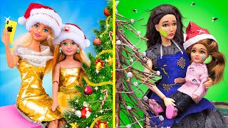 Rich Mom vs Broke Mom / 10 Easy Barbie Ideas