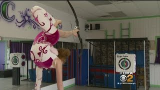 11-Year-Old Contortionist Trying To Break World Record With Talented Toes