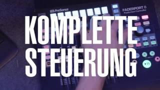 PreSonus—Faderport 8 Auf Deutsch