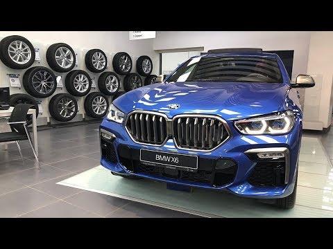 ВСТРЕЧАЙТЕ НОВЫЙ МОЩНЫЙ BMW X6 M50i 530Л.С УЖЕ В РОССИИ 2020