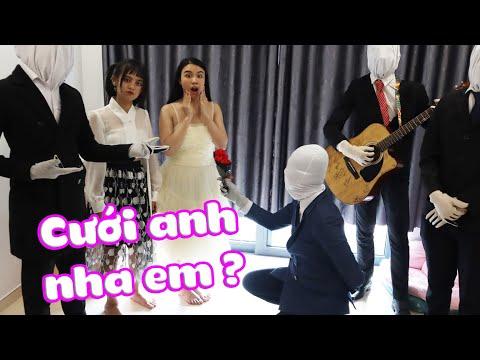 Slender Man Cầu Hôn Linh Miu, Liệu Có Đồng Ý ?| Linh Miu Official