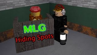 Roblox Before the Dawn - MLG Hiding Spots