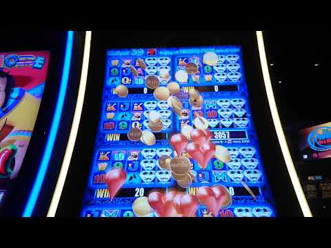 Big Win!! More More Hearts Slot Machine Bonus Round At Mohegan Sun Pocono Casino