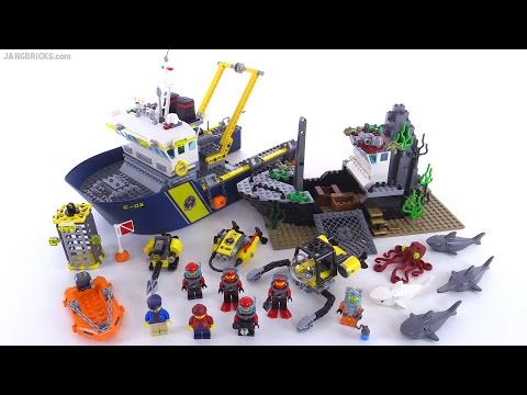 LEGO City Deep Sea Exploration vessel review! set 60095