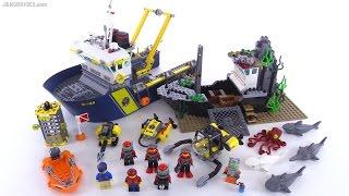LEGO City Deep Sea Exploration vessel review! set 60095