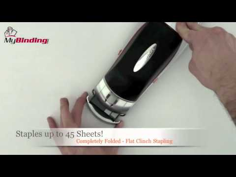 Swingline Optima 45 Electric Stapler Demo - SWI-48209