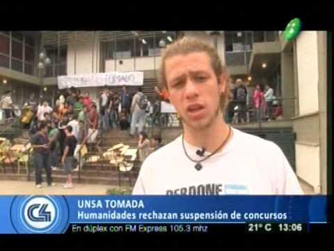 Alumnos tomaron el rectorado de la Unsa
