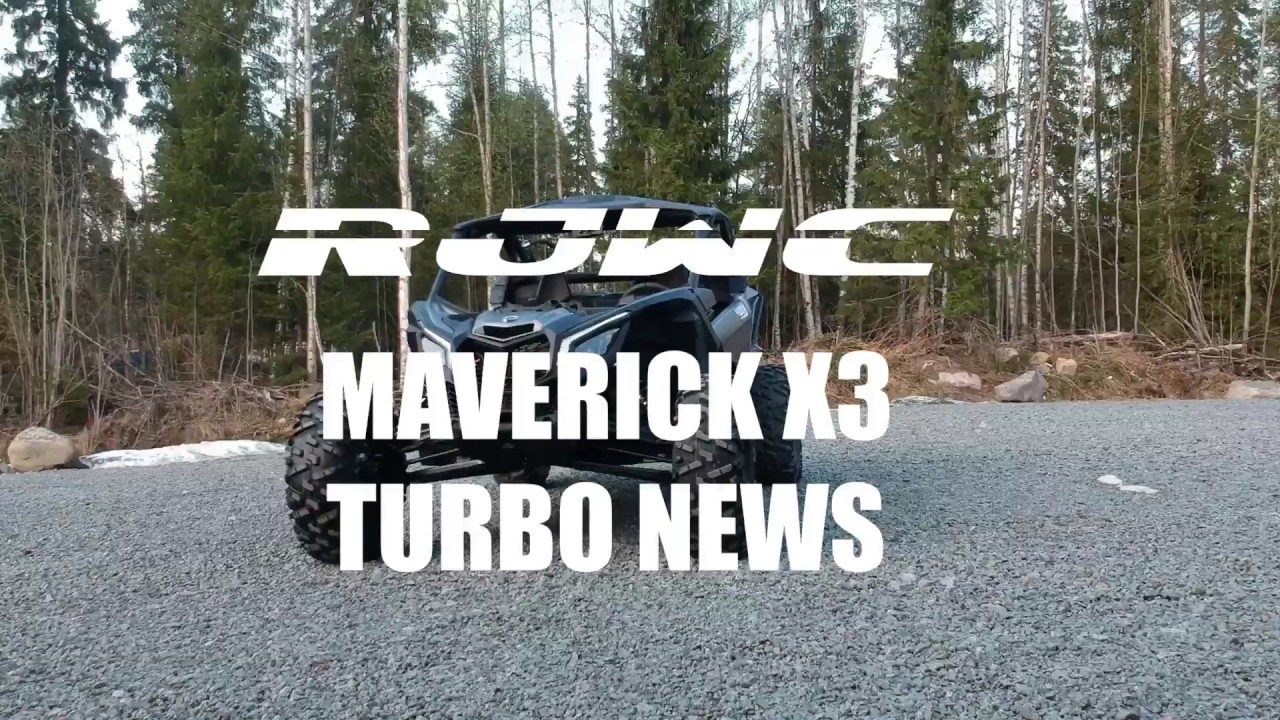 Can-Am Maverick X3 Turbo Straight Pipe, RJWC Exhaust Systems