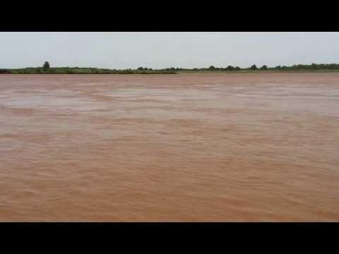 The Blue Nile river at Medani, Sudan,  Sep 2013