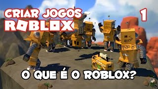 What is Roblox? [How to create games on Roblox #01] [Initial game creation Tutorial on Roblox]