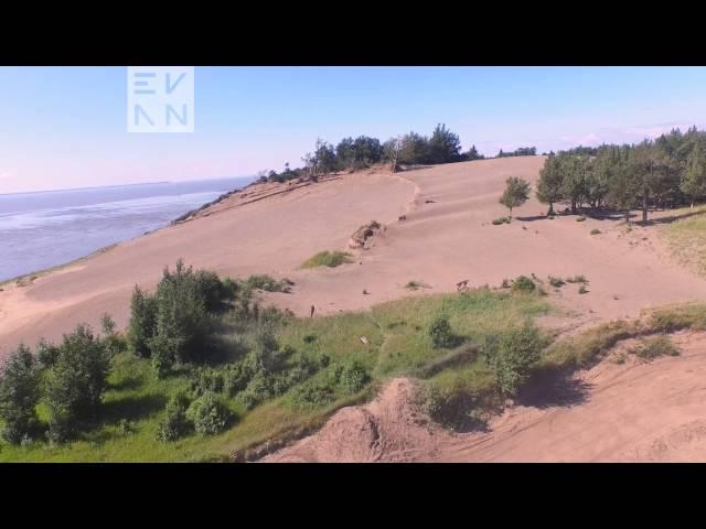 Sand Dunes at Kincaid Park