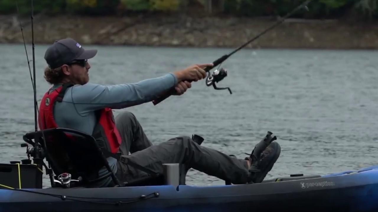 Video Gear Review: Perception Pescador Pilot 12 0 Kayak