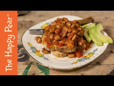 Healthy Baked Beans | 5 Minute Breakfast