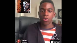 Kasher Quon Back in motion reaction