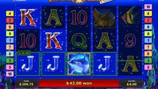 Casino Online / Dolphins Pearl / 2$ Bet ► 870$ WIN / 75 Free Games