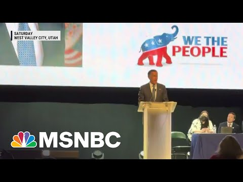 Sen. Mitt Romney Booed At Utah GOP Convention | Morning Joe | MSNBC