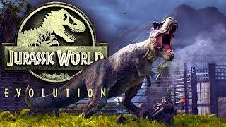 Jurassic World Evolution #26 | Ein Gehege zum spielen und kämpfen | Gameplay German Deutsch thumbnail