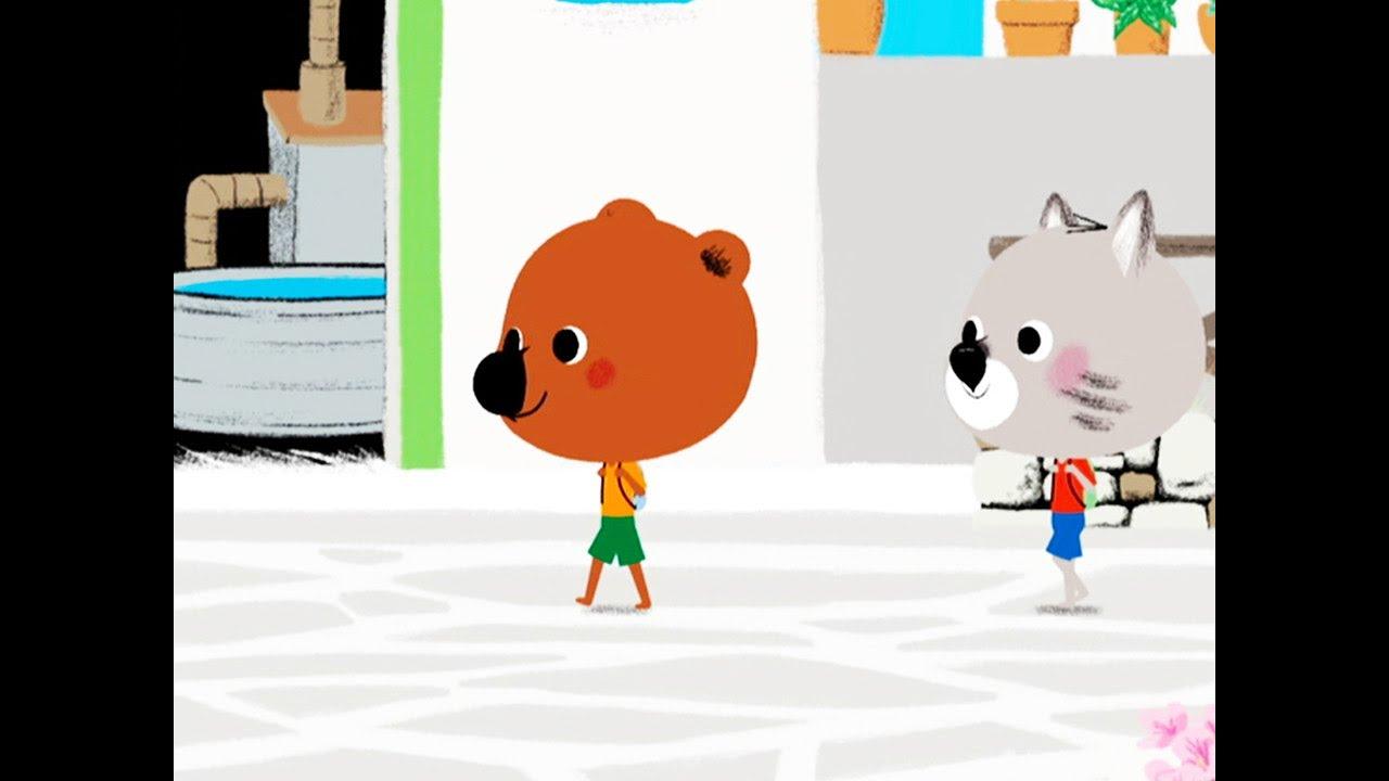 Mouk Der Weltreisebär - Kleine Fische werden gross | Zeichentrickfilm für Kinder
