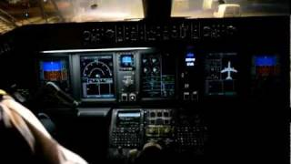 Cockpit - Embraer 190 Landing in Guadeloupe