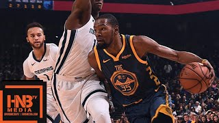 Golden State Warriors vs Memphis Grizzlies 1st Half Highlights | 12.17.2018, NBA Season