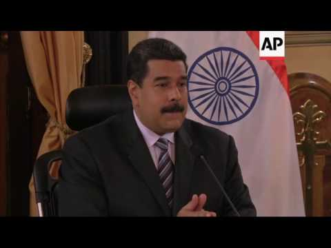 Venezuela signs oil production agreements with india