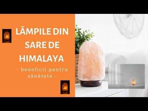Lămpile din sare de Himalaya - beneficii pentru sănătate