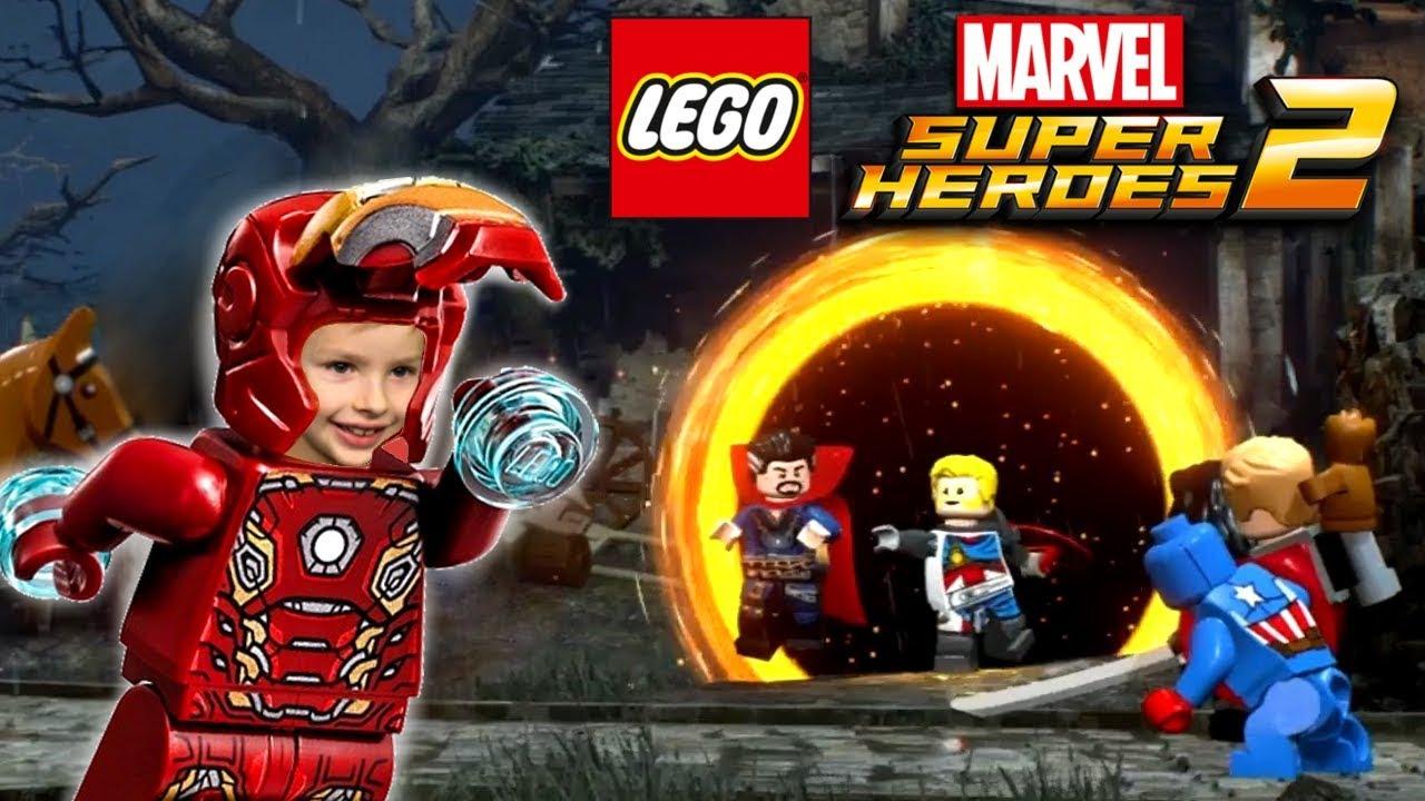 Czarno To Widzę 4 Lego Marvel Super Heroes 2 Xbox One Youtube