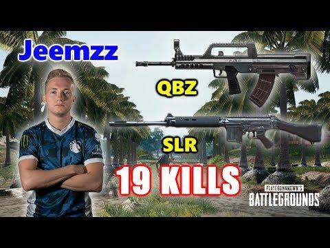 Team Liquid Jeemzz - 19 KILLS - QBZ+SLR -  SOLO - PUBG