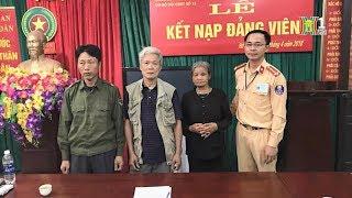 Đội CSGT số 12 giúp đỡ cụ già lạc đường về với gia đình tại thôn Đồng | Nhật ký 141