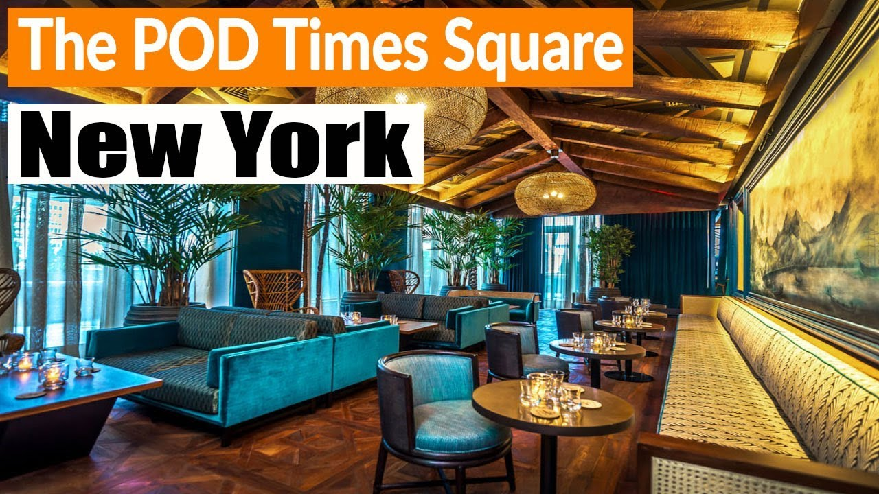 The Pod Hotels Times Square Nyc Room Tour Interior Exterior And Surrounding Youtube