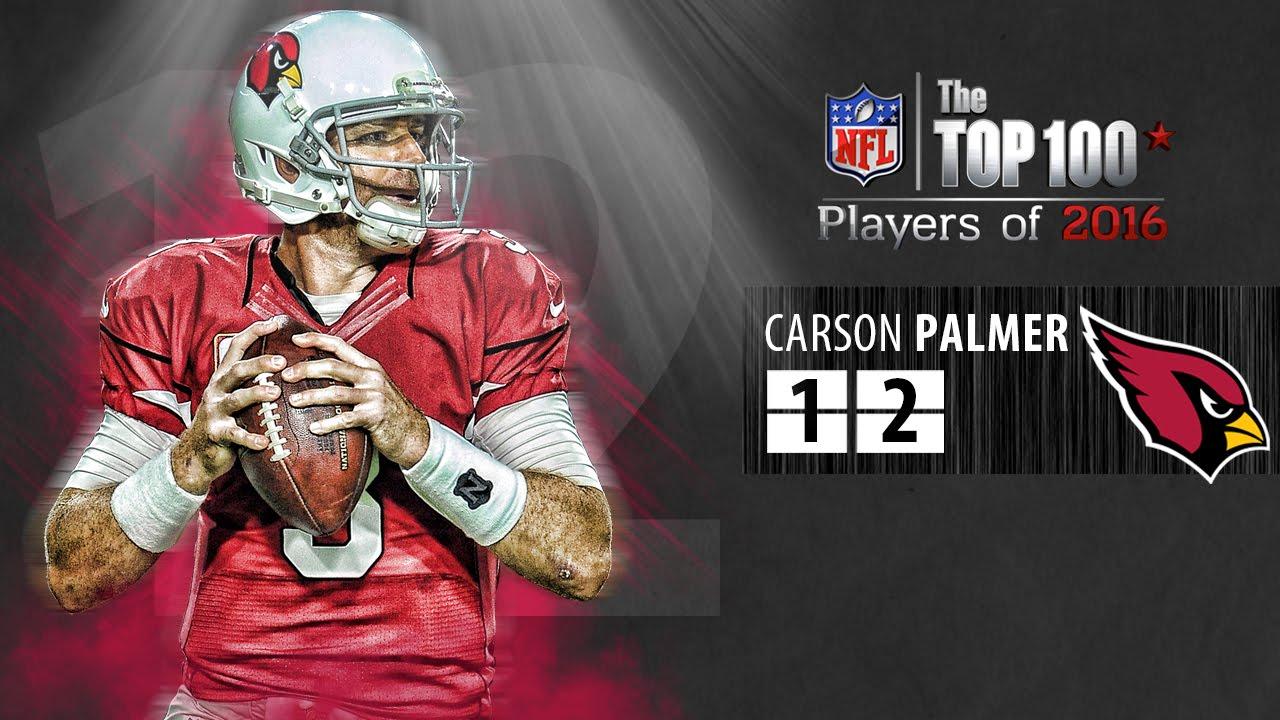 12 Carson Palmer QB Cardinals
