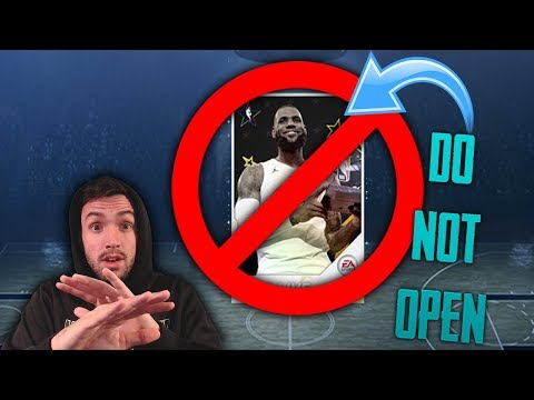 DO NOT BUY THESE ALL STAR PACKS!!!! NBA Live Mobile 18