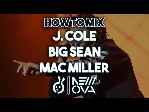 "~ MIX ONLY ~ How To Mix ""J. COLE // BIG SEAN // MAC MILLER"" Type Industry Rap Vocals Studio Tutorial"