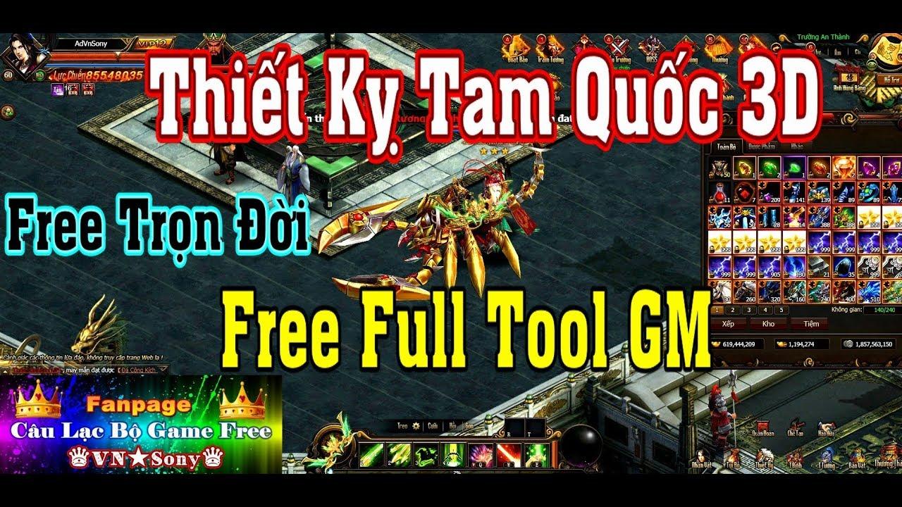《WebGame Lậu》Thiết Kỵ Tam Quốc VH – Free Full Tool GM #231