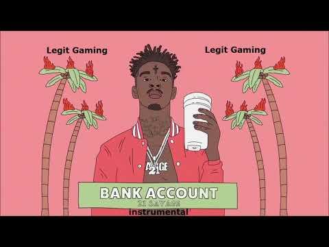 21 Savage - Bank Account Instrumental - 1 Hour Loop