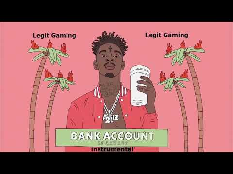 21 Savage - Bank Account Instrumental - 1 Hour Loop