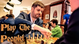 Peter Svidler & Miro Play The People!