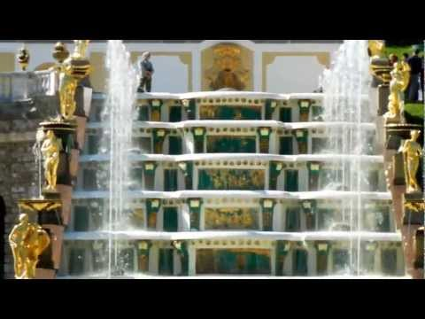 Санкт-Петербург. Петергоф. Фонтаны. Russian Peterhof. Full HD