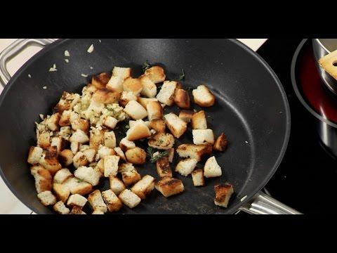 Видео Рецепт сухариков для бульона