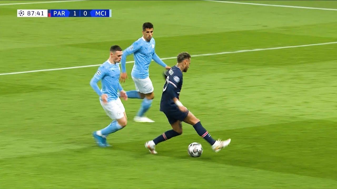 Download Neymar VS MANCHESTER CITY (AWAY)   2021 1080i HD
