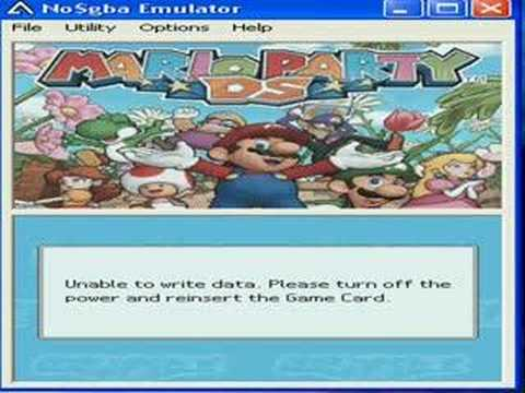 Mario Party DS rom problem
