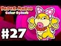 Paper Mario: Color Splash - Gameplay Walkthrough Part 27 - Fortune Island 100%! (Nintendo Wii U)