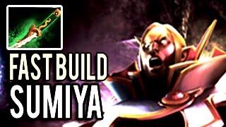 Dota 2 Invoker Fast Farm - Sumiya Yasha 12min 7.04 Fast Build Killer Meta